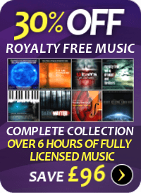 Royalty free music discount