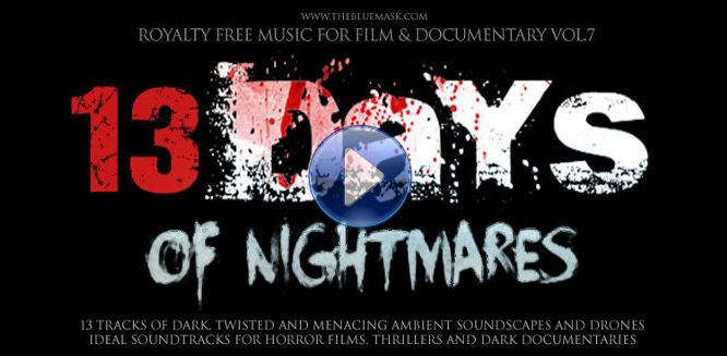 Royalty Free Horror Music Vol.7 Promotional Video by Simon Wilkinson