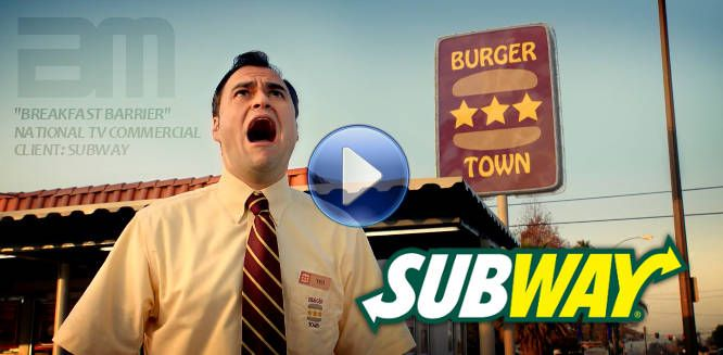 Dramatic trailer music by Simon Wilkinson licensed for Subway national TV commercial