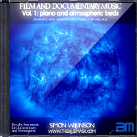 Royalty Free Atmospheric Film And Documentary Music from film composer Simon Wilkinson