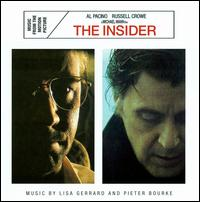 The Insider soundtrack by Lisa Gerrard/Pieter Bourke/Gustavo Santaolalla