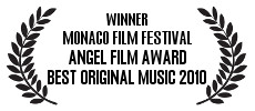 My music wins Best Original Music award at the Angel Film Festival in Monaco