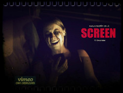 Screen horror film with music by Simon Wilkinson
